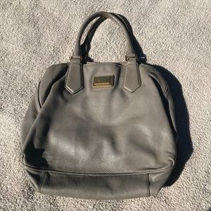 Marc by Marc Jacobs Leather Hobo Bag in Taupe